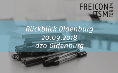 2018 oldenburg forum itsm
